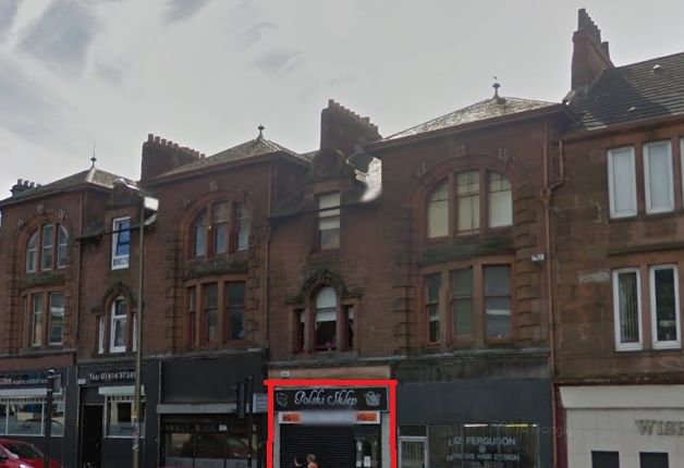 Retail premises for sale in Main Street, Wishaw