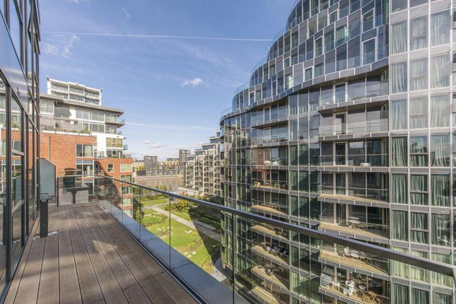 Balcony View of Quarter House, Juniper Drive, Battersea Reach, London SW18