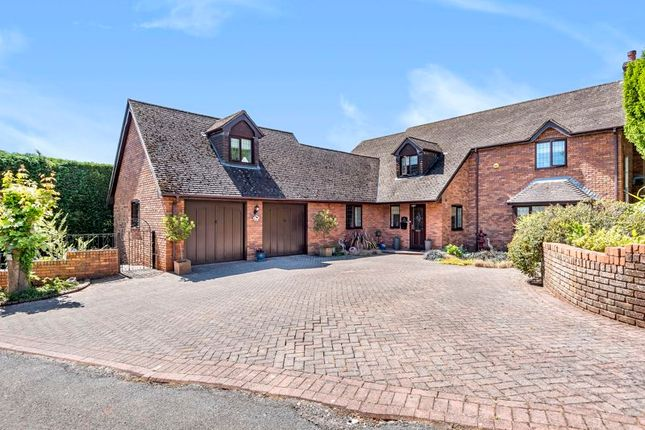 Thumbnail Detached house for sale in Queens Gardens, Magor, Monmouthshire