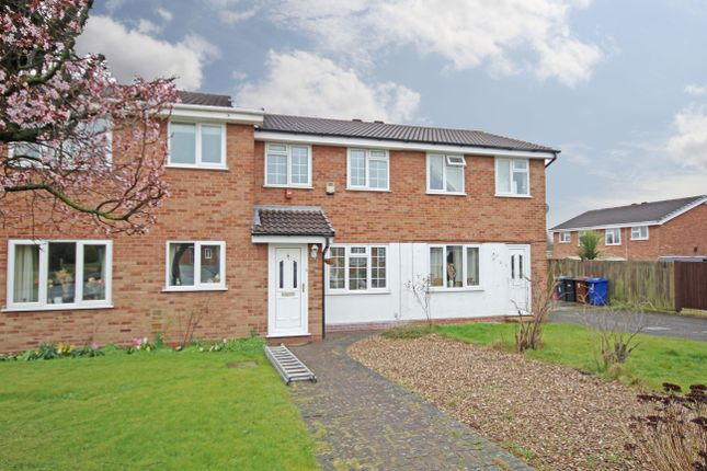 Thumbnail Terraced house to rent in Crestwood Close, Stretton, Burton-On-Trent