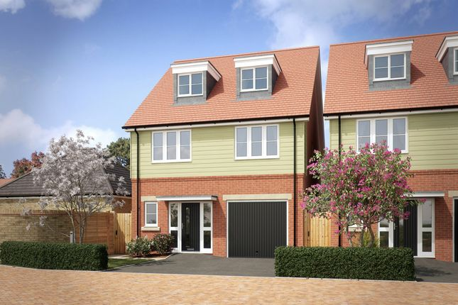 Thumbnail Detached house for sale in Zubron Grove, Whitehouse, Milton Keynes