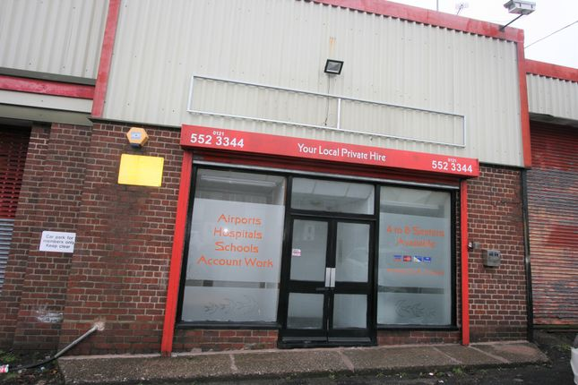 Thumbnail Commercial property to let in Crosswells Road, Oldbury