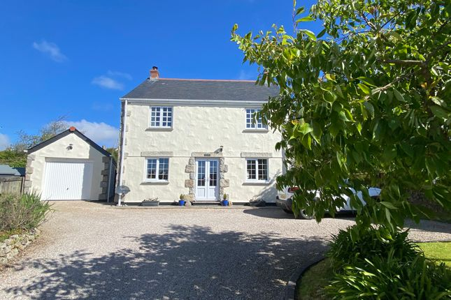Thumbnail Detached house for sale in Churchway, Madron, Penzance