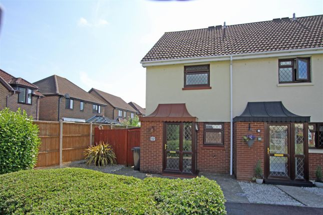 Thumbnail End terrace house for sale in Stinsford Close, Bournemouth