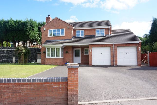Thumbnail Detached house for sale in Station Fields, Telford