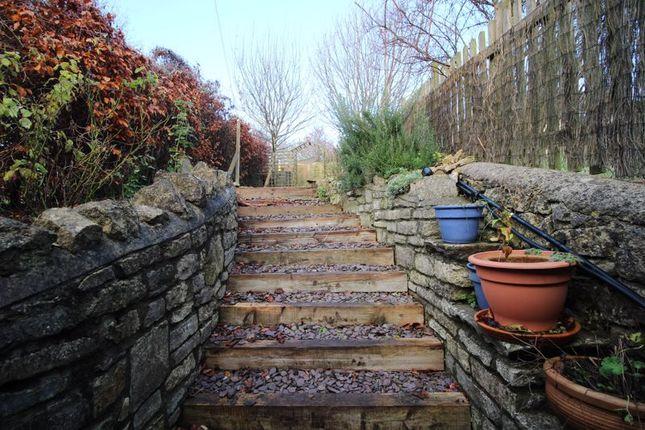 Back Garden of Single Hill, Shoscombe, Bath BA2