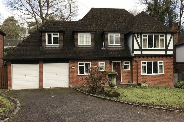 Thumbnail Detached house to rent in Crawley Wood Close, Camberley