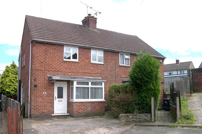 Thumbnail Semi-detached house to rent in Brook Close, Alfreton