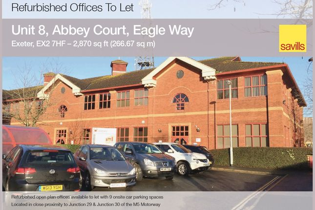 Thumbnail Office to let in Eagle Way, Exeter