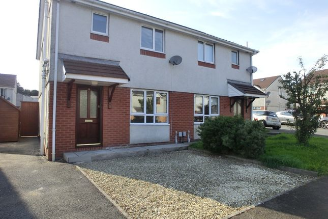 Thumbnail Semi-detached house to rent in Clos Cenawon, Cwmrhydyceirw, Swansea