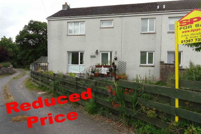 Thumbnail Semi-detached house for sale in East Cluden Village, Dumfries
