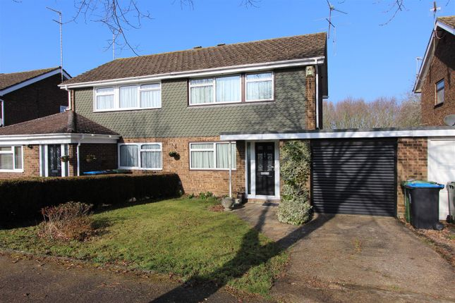 Thumbnail Semi-detached house for sale in Wootton Drive, Hemel Hempstead, Hertfordshire