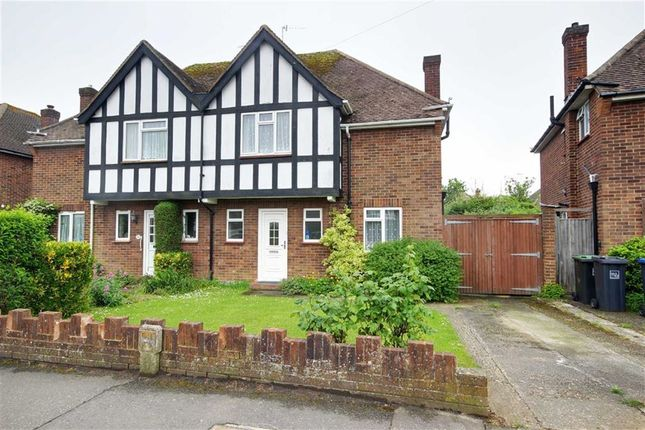 Thumbnail Semi-detached house for sale in Nelson Road, Goring-By-Sea, Worthing, West Sussex