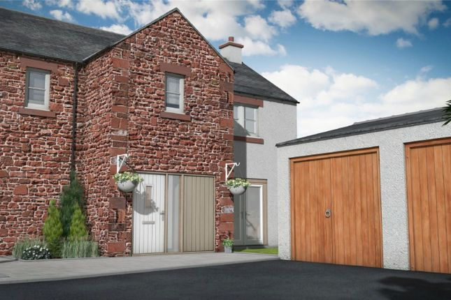 Thumbnail End terrace house for sale in Plot 8, The Old Sawmill, Warcop, Appleby-In-Westmorland, Cumbria