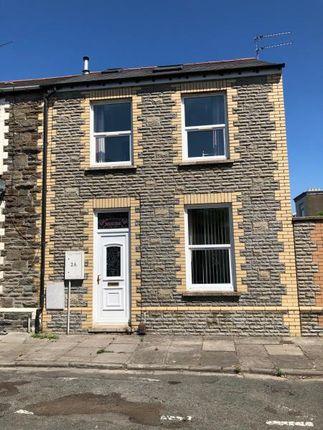 Thumbnail End terrace house to rent in Daniel Street, Roath, Cardiff