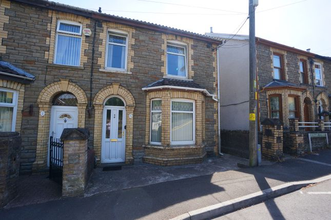 Thumbnail Semi-detached house for sale in Bernard Street, Cwmcarn, Newport