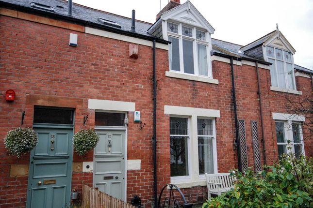 Thumbnail 2 bed terraced house to rent in Gordon Avenue, Gosforth, Newcastle Upon Tyne