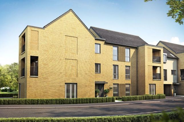 "Thumbnail Flat for sale in ""Chivers House"" at Divot Way, Basingstoke"
