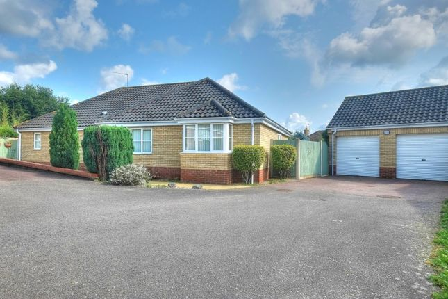 Thumbnail Detached bungalow for sale in Will Rede Close, Beccles