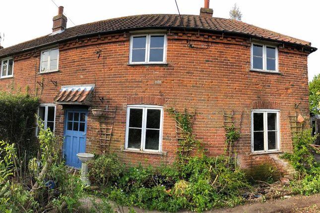 Thumbnail Semi-detached house for sale in School Road, Colkirk, Fakenham
