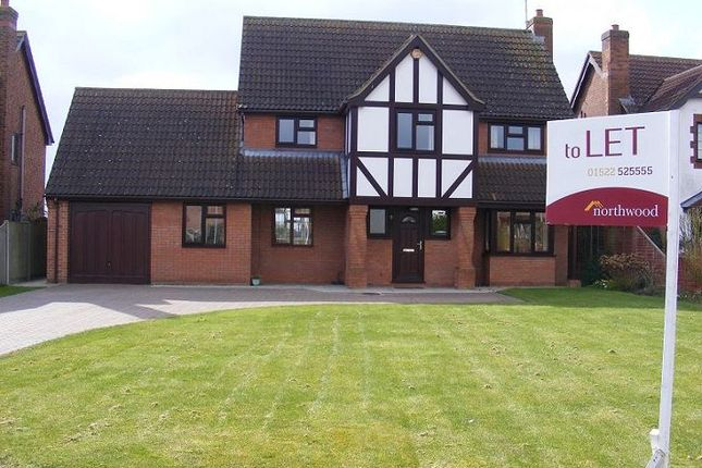 Thumbnail Detached house to rent in Lambourne Way, Heckington, Sleaford
