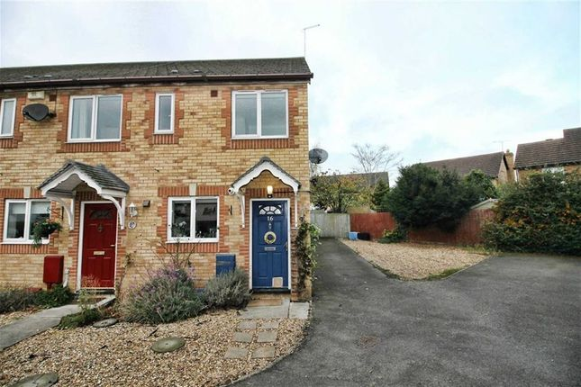 Thumbnail End terrace house for sale in Thyme Close, Newport Pagnell, Bucks