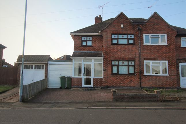 Thumbnail Semi-detached house to rent in Kingsway, Braunstone, Leicester