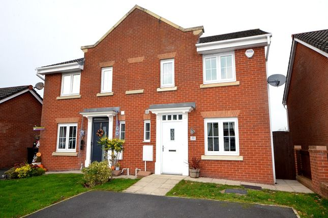 Thumbnail Semi-detached house for sale in Holmecroft Chase, Westhoughton