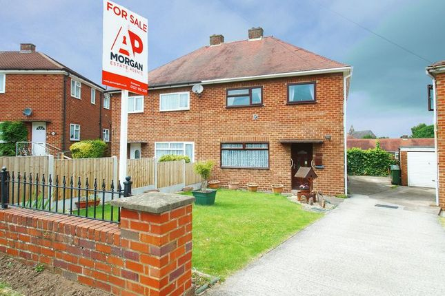 Thumbnail Semi-detached house for sale in Grafton Crescent, Bromsgrove