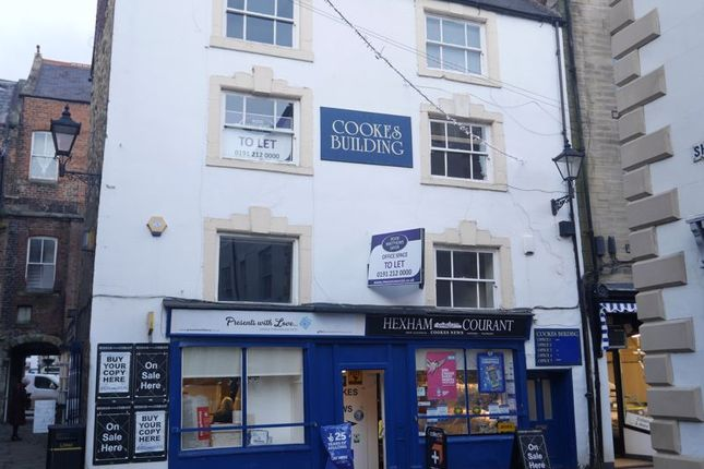 Office to let in Meal Market, Hexham