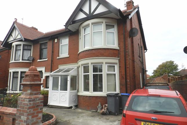Thumbnail Semi-detached house for sale in Newton Drive, Blackpool