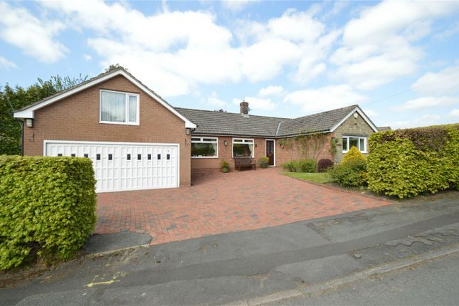 Thumbnail Detached bungalow for sale in Gleave Avenue, Bollington, Macclesfield, Cheshire