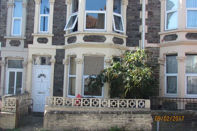 Thumbnail Terraced house to rent in Cairns Crescent, St Pauls, Bristol
