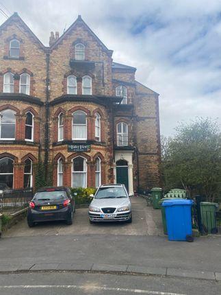 Thumbnail Studio to rent in Grosvenor Road, Scarborough