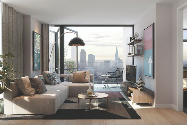 Thumbnail Flat for sale in The Atlas Building, City Road, London