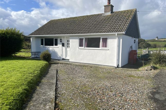 Thumbnail Bungalow for sale in Comins Coch, Aberystwyth