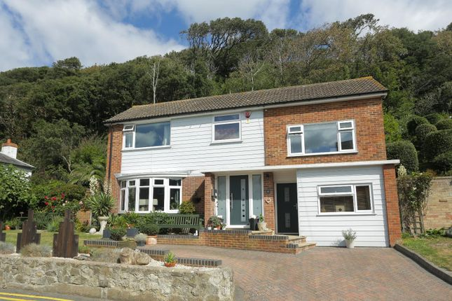 Thumbnail Detached house for sale in Radnor Cliff, Sandgate, Folkestone