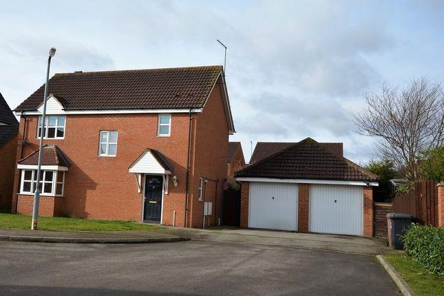 Thumbnail Detached house for sale in Baulmsholme Close, Northampton