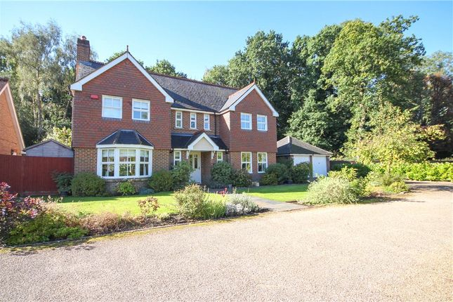 Thumbnail Detached house for sale in Knox Close, Church Crookham, Fleet