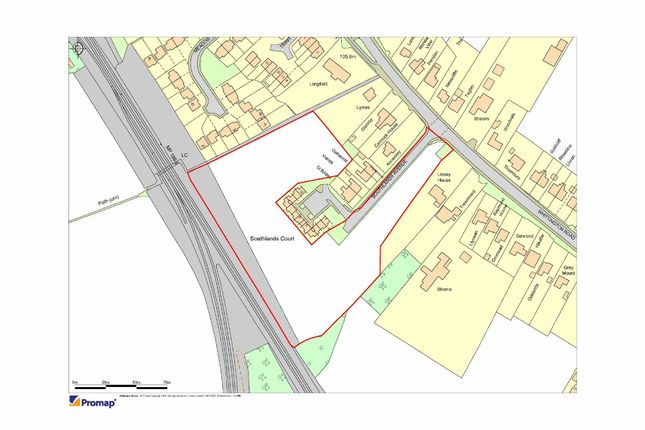 Thumbnail Land for sale in Southlands Avenue, Gobowen, Oswestry