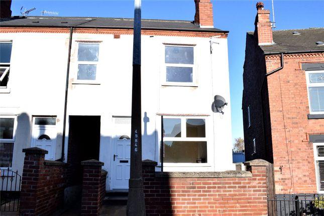 Thumbnail End terrace house to rent in Archer Street, Ilkeston, Derbyshire