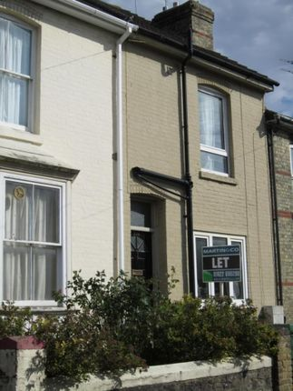 Thumbnail Terraced house to rent in Bower Street, Maidstone