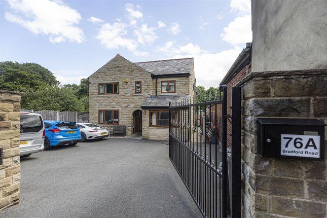 Detached house for sale in Bradford Road, Bailiff Bridge, Brighouse