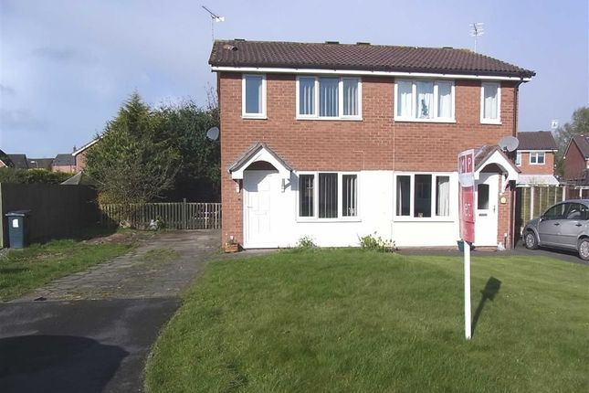 Thumbnail Semi-detached house to rent in 28, Aston Close, Oswestry, Oswestry, Shropshire
