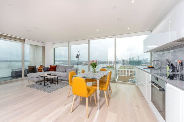 Thumbnail Flat for sale in Liner House, 16 Admiralty Avenue, Royal Wharf, London