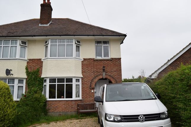 Thumbnail Semi-detached house to rent in Leslie Road, Parkstone, Poole