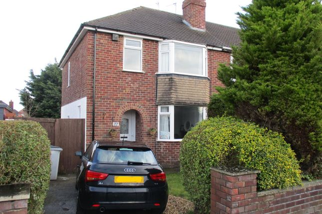 Thumbnail Semi-detached house to rent in Ridgemere Road, Pensby, Wirral