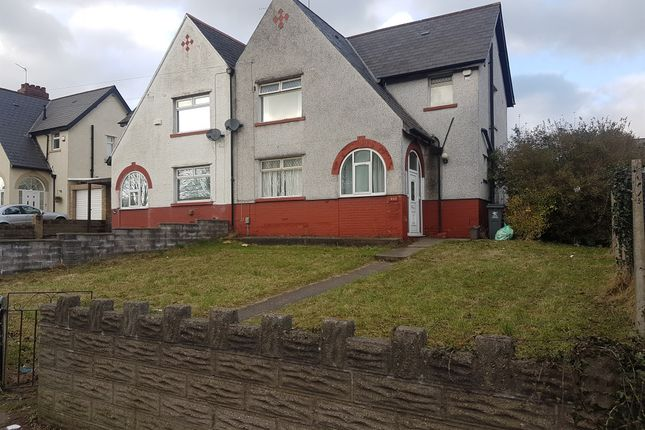 Thumbnail Semi-detached house for sale in Cowbridge Road West, Ely, Cardiff