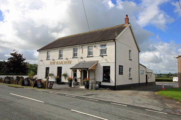 Thumbnail Pub/bar for sale in Station Road, Nantgaredig, Carmarthen, Carmarthenshire