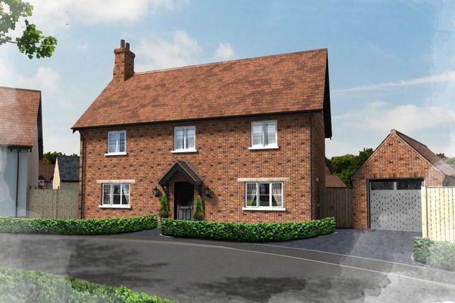 Thumbnail Detached house for sale in Plot 42, Hill Place, Brington, Huntingdon